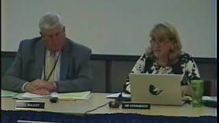 School Committee Meeting 10/3/17