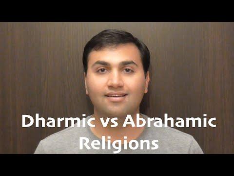Dharmic vs Abrahamic Religions