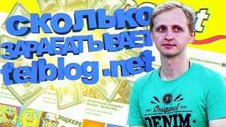 Telblog.net - Сколько приносит денег канал на youtube? Заработок на ютуб канале.
