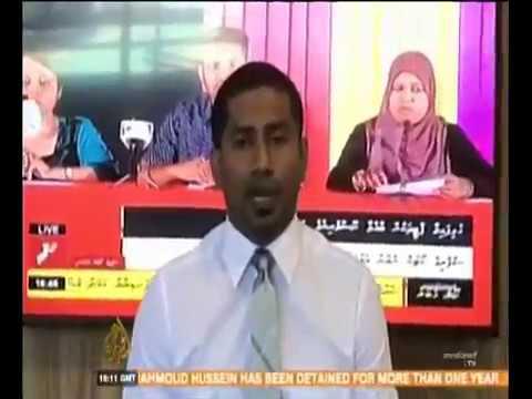 Maldives on Aljazeera TV