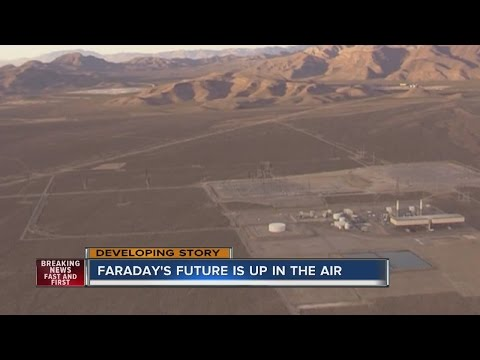 Work stops at Faraday Future factory site outside Las Vegas
