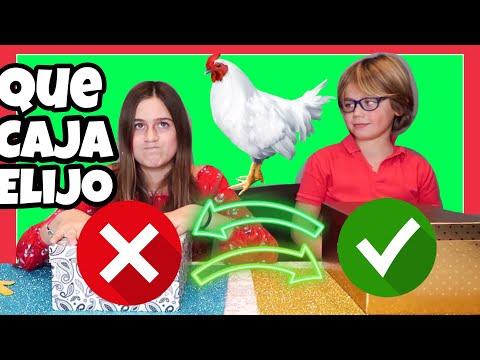 NO ELIJAS LA CAJA de NAVIDAD incorrecta 😲SLIME|  with Karen