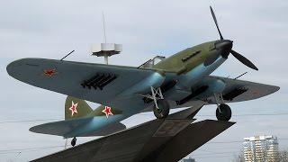 ИЛ-2 М в War Thunder управление