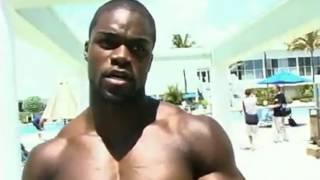 Brandon Curry rare video muscle beach