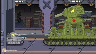 ОЛ ҚҰБЫЖЫҚ - клип Мультики про танктер (HomeAnimations КВ-44М) tank kb44m❤
