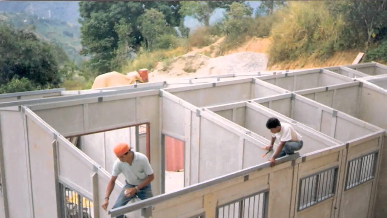 Las casas prefabricadas de osorio 39 s youtube for Casas prefabricadas economicas