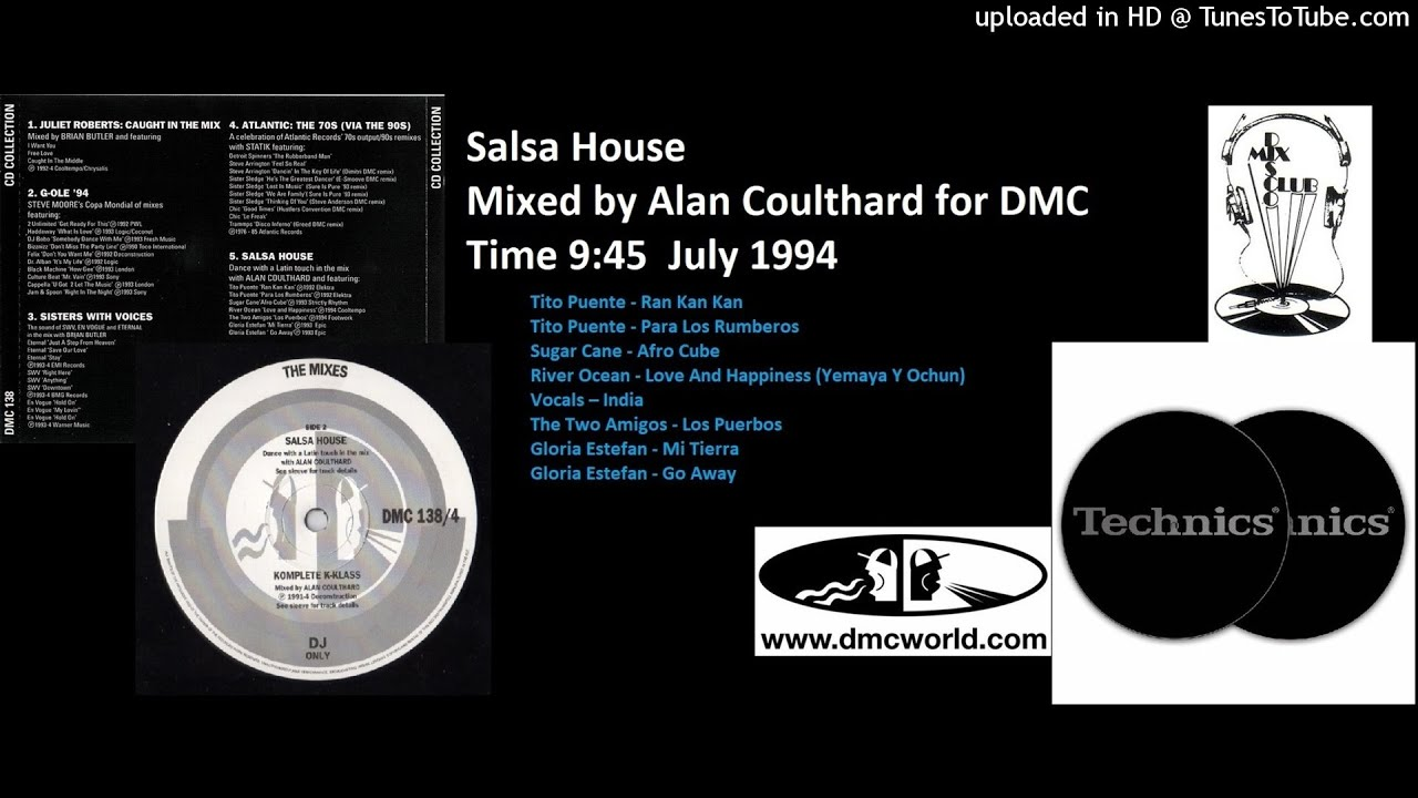 Salsa House (DMC Mix by Alan Coulthard July 1994)