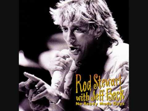 Rod Stewart (with Jeff Beck) 1984 I Ain´t Superstitious - LIVE!