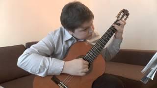 Н.Симанин, Финская полька(1),1 -й год обучения, март 2014г