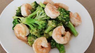 (ENG) 일품요리, 새우와 브로콜리 | Shrimp …