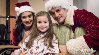 Katy Perry, Orlando Bloom and Caroline Kennedy Spread Holiday Cheer Online
