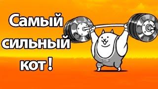 Самый сильный кот ! ( Battle Cats )