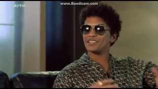 Bruno Mars interview with Tracks, Arte (Germany)