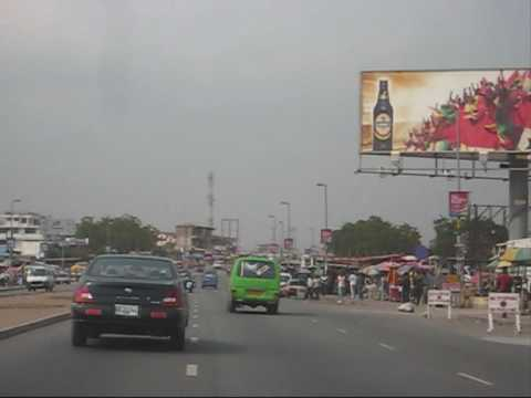 Driving In Greater Accra Areas Part 1.