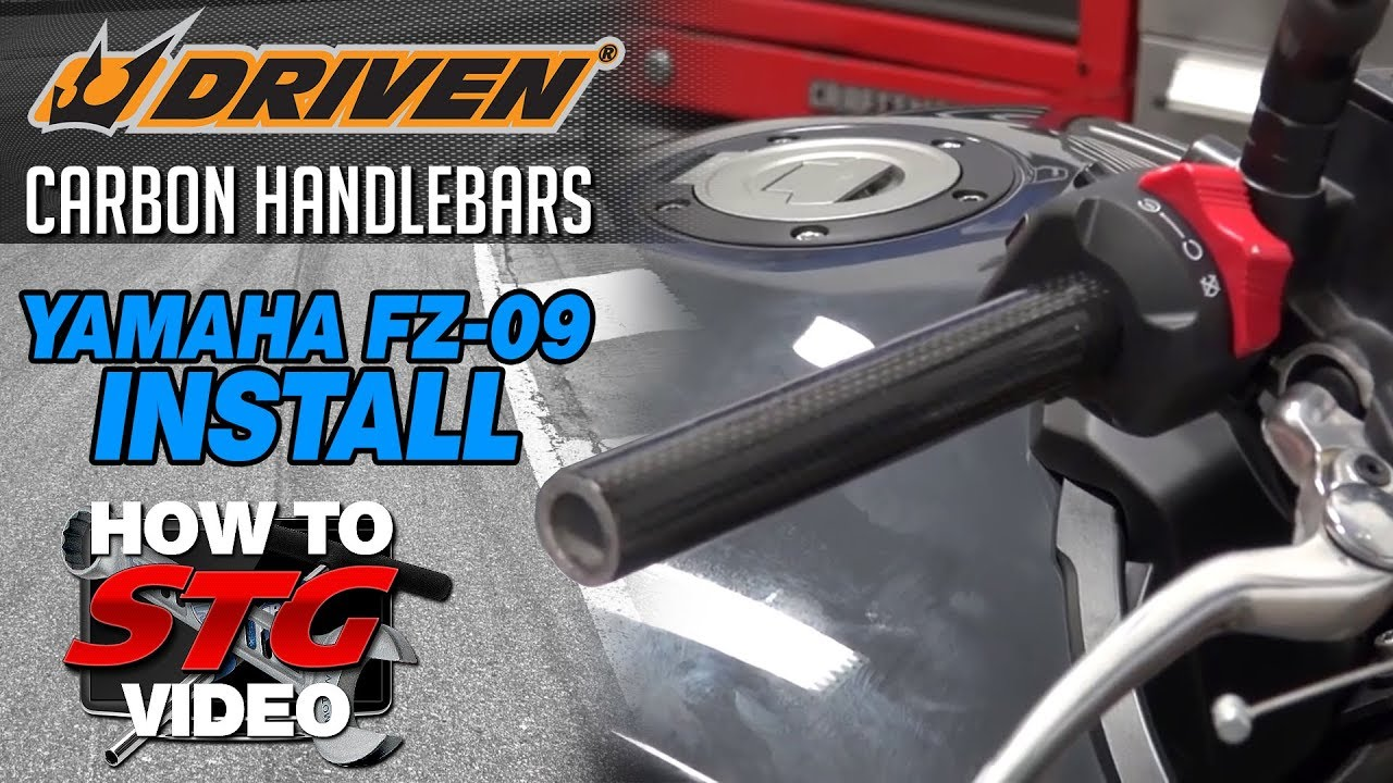 Video: Installing Aftermarket Handlebars On A Yamaha FZ-09