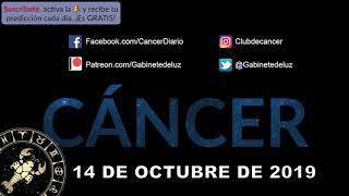 Horóscopo Diario - Cáncer - 14 de Octubre de 2019