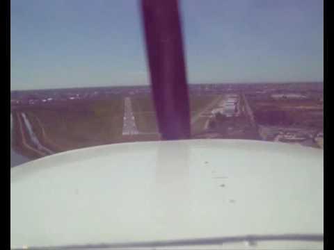 Cessna 150 LV-WNU, Land in San Fernando (Argentina)