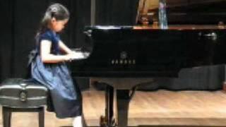 Annie plays Haydn Piano Sonata no. 38 in F major, Hob. XVI:23, 2nd mvt.