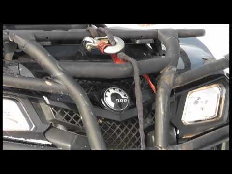 Can-Am BRP Outlander 800 MAX vs Cfmoto X8 EFI (Полная версия). Atvarmor.