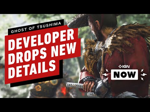 Ghost of Tsushima Developer Provides Exclusive Details – IGN Now