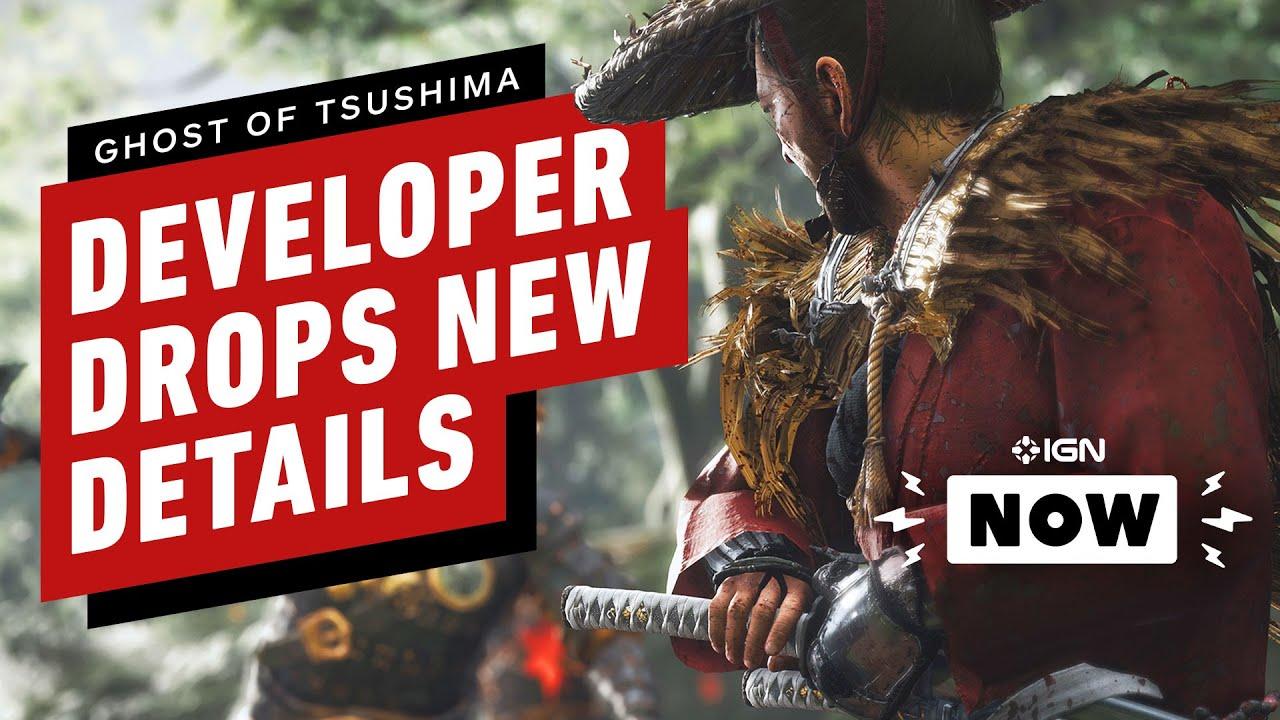 El desarrollador de Ghost of Tsushima brinda detalles exclusivos - IGN Now + vídeo