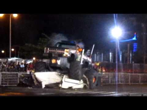 Vegas Motor Show - Monster Truck - Trianon - Mauritius