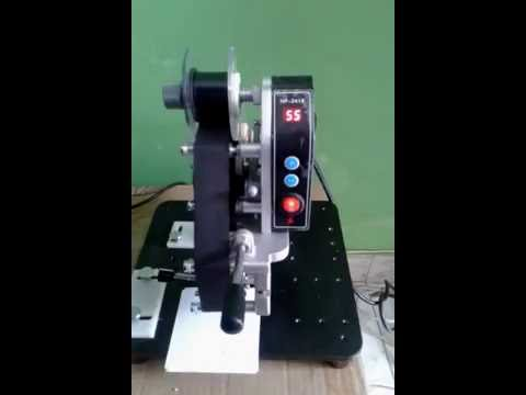 Manual Coder Printer - Codificadora Manual