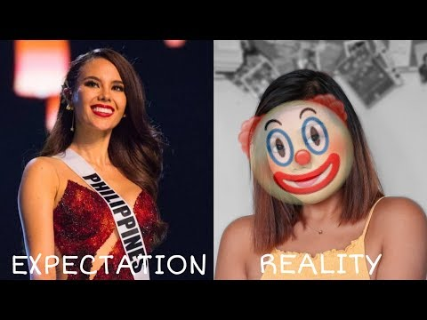 Recreating Miss Universe 2018's Makeup Look | gery de guzman thumbnail