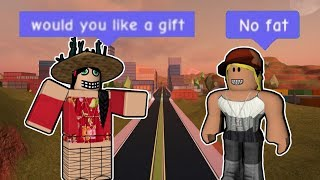 ROBLOX | I FAILED AT GIVING OUT GIFTS TO RANDOM PEOPLE (RANDOM ACT OF KINDNESS)