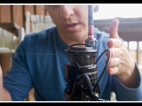 HOW TO SPOOL LINE On A SPINNING REEL PROPERLY  EASY And EFFECTIVE