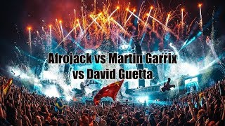 afrojack mixes 7 songs in 3 minutes live tomorrowland 2018 ft martin garrix david guetta