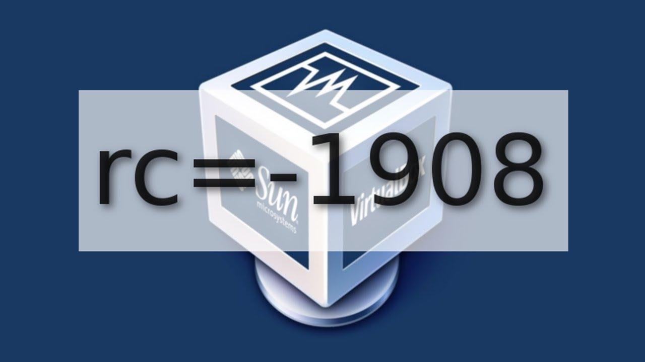 How to Fix Virtual Box Error rc=-1908 On Linux Antergos or ...