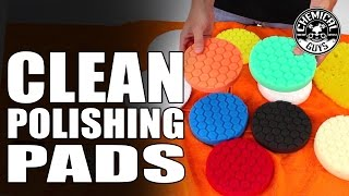 How To Clean Polishing Pads - Universal Pad Washer - Chemical Guys