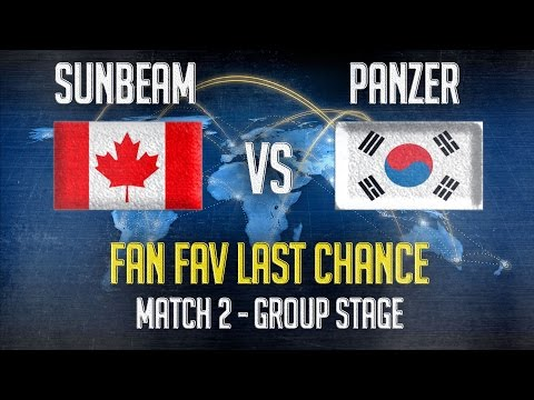 Match 2 - Fan Fav Last Chance : Panzer(KOR) vs Sunbeam(CAN) - Group Stages