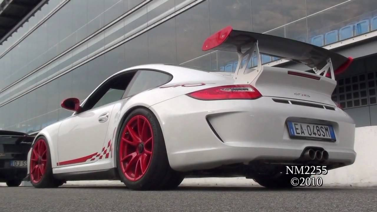 Porsche 997 Gt3 Rs Mk2 With Tubi Style Exhaust Loud