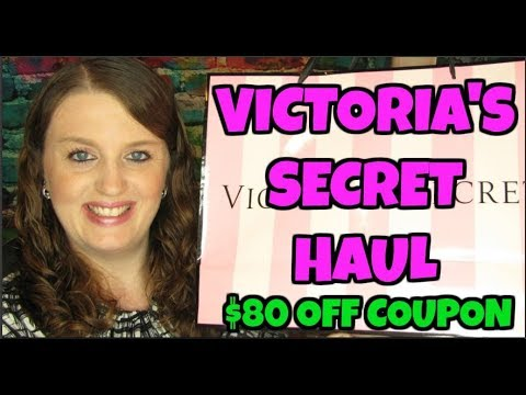 Victoria's Secret Haul $80 Off Coupon September 14th 2019