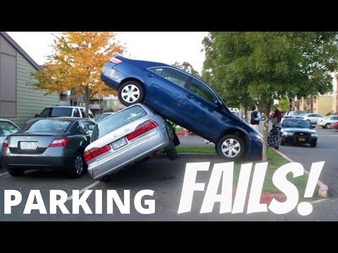 🚗 PARKING FAILS 😱 FAILS 😂 TRY NOT TO LAUGH 🤣