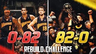 0-82 to 82-0 Rebuilding Challenge in NBA 2K19