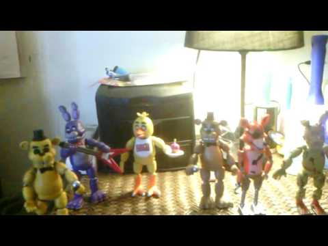 five nights at freddy's animatronics toys