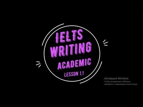 ielts academic writing 1.1