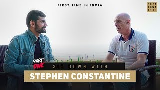 """""""Indian Football Team travelled 24 HOURS in SLEEPER TRAINS!""""   Sit-down with Constantine: Part 1"""