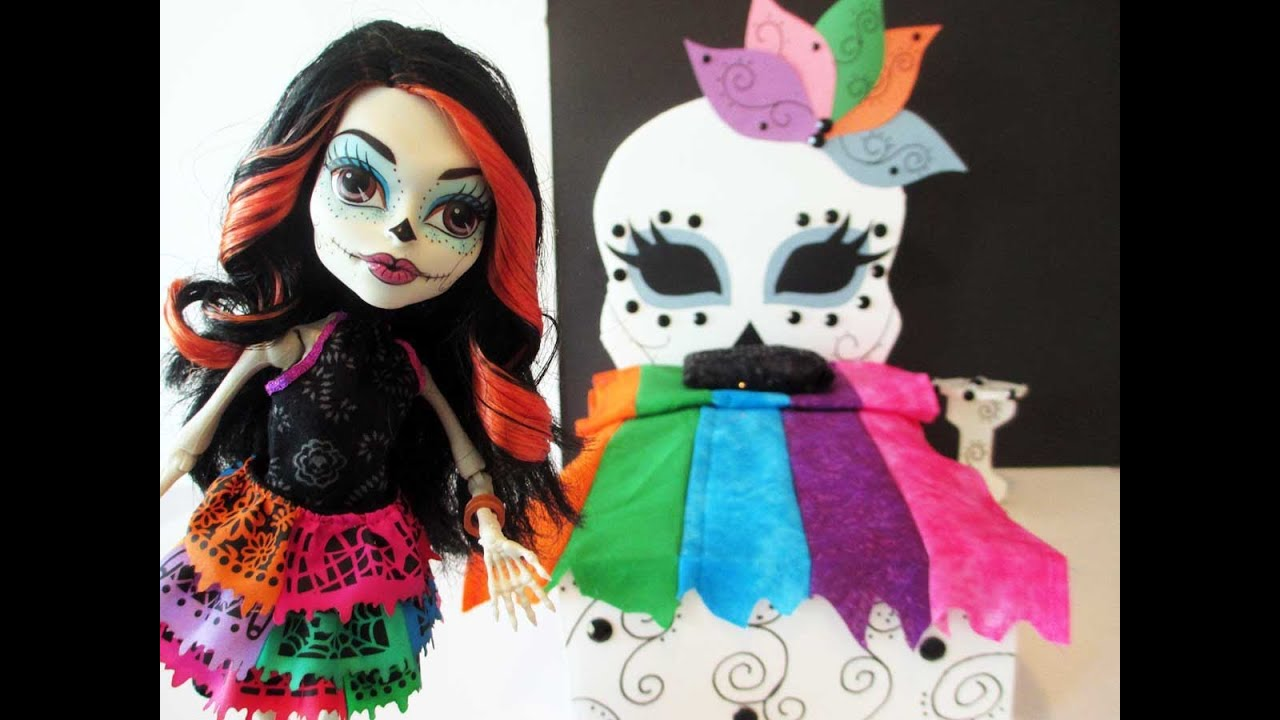 How to make a skelita calaveras doll bed tutorial monster for How to make a high bed