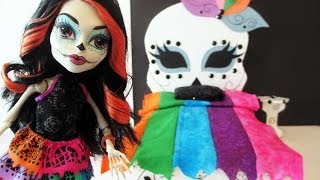 How To Make A Skelita Calaveras Doll Bed Tutorial/ Monster High