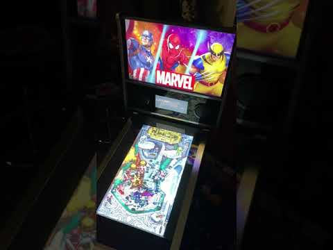 Arcade1up Marvel Pinball: Thor Table Gameplay 60FP from Kelsalls Arcade