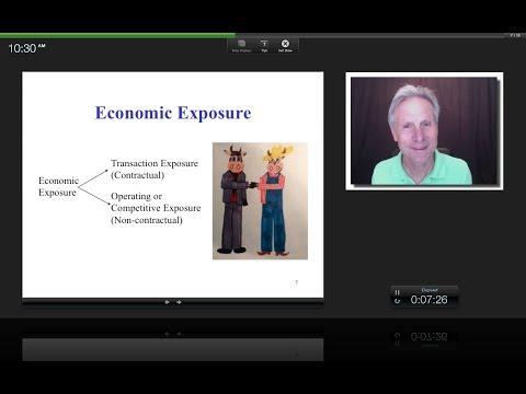 Economic Exposure, James Tompkins