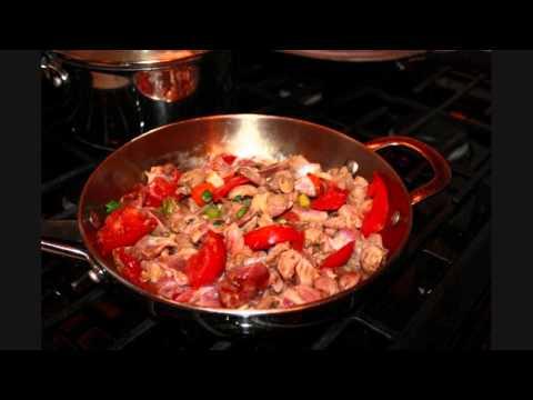 Simple Chicken Liver And Gizzard Recipe.