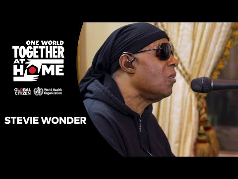 """Stevie Wonder performs """"Lean On Me"""" & """"Love's In Need of Love Today   One World: Together At Home"""