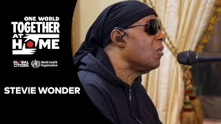 "Stevie Wonder performs ""Lean On Me"" & ""Love's In Need of Love Today 