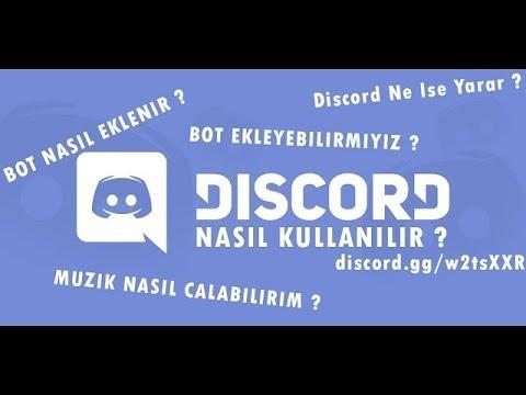 Discord 4 Tane Bot Ekleme(Mirai Utili Gnar Mee6) by Kaan K