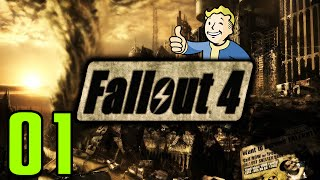 Fallout 4 Walkthrough Gameplay Part 1 - NUCLEAR EXPLOSION (PC)